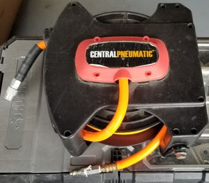 Central Pneumatic Retractable Air Hose 20 ft 200 psi Heavy Duty Steel for Sale in Delray Beach, FL
