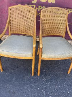 CANE BACK VINTAGE CHAIRS for Sale in Santa Ana,  CA