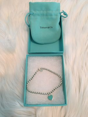 Tiffany's Heart Tag Bracelet (New) for Sale in Brandon, FL