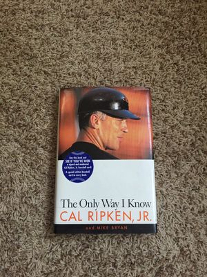Cal Ripken signed book for Sale in Crownsville, MD