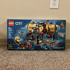LEGO 60265 City Ocean Exploration Base 497pcs New for Sale in Humble, TX