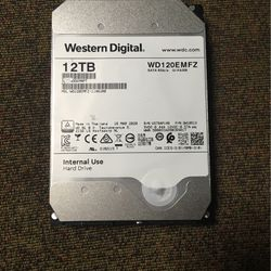 Western Digital 12TB Hard Drive for Sale in Boyertown,  PA