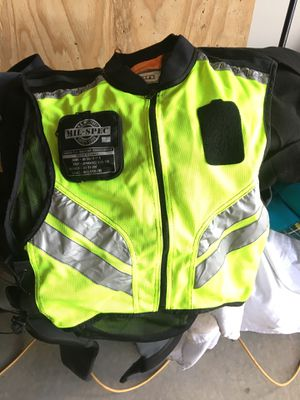 Icon high-visibility motorcycle vest for Sale in Longmont, CO