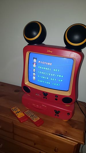 Mickey TV with DVD player for Sale in Springfield, OR