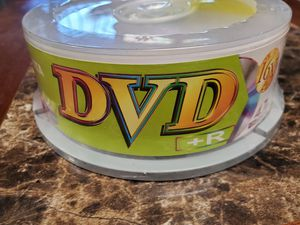 New 25 Pack Ridata DVD Blanks for Sale in Temecula, CA