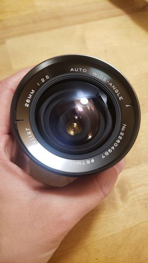Like-new 28-67mm wide angle Vivitar camera lens for Sale in Portland, OR