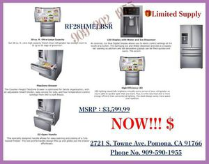 SAMSUNG Flex drawer Showcase French Door Refrigerator for Sale in Chino Hills, CA