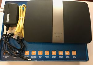 Cisco Linksys Smart Wifi Router Model EA4500 N900 Dual Band for Sale in Frisco, TX