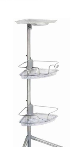 OXO 3' Stainless Steel Standing Shower Caddy for Sale in Boston,  MA