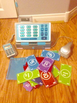Pretend play cash register & money for Sale in Nellis Air Force Base, NV