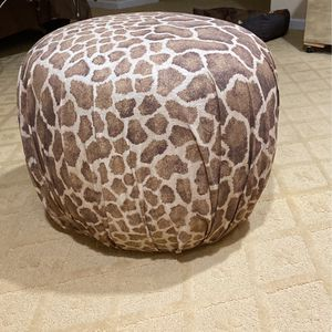 """Upholstered """"puff"""" Stool for Sale in Plainview, NY"""