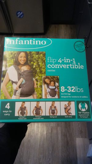 INFANTINO BABY CARRIER NEW IN BOX for Sale in Buffalo, NY
