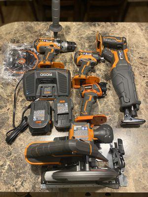 Ridgid 5 piece tool kit for Sale in Georgetown Township, MI