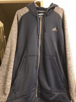 BRAND NEW MENS ADIDAS ZIP UP HOODIE WITH TAGS for Sale in North Las Vegas, NV