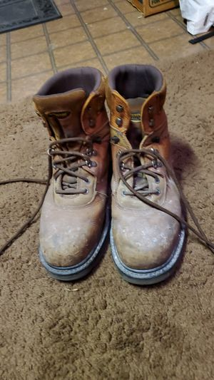 Wolverine size 10 steel tow work boots for Sale in Murrieta, CA