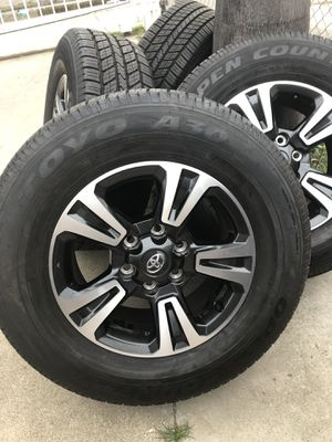 2019 toyota Tacoma wheels for Sale in Pico Rivera, CA