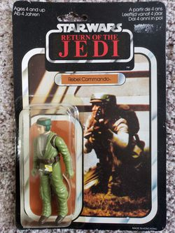 Rebel Commando STAR WARS Return of the Jedi VINTAGE Palitoy 1983 for Sale in Lake Forest Park,  WA