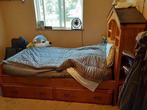 Twin Treehouse Bed w/ Trundle for Sale in Snohomish, WA