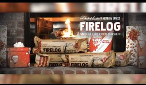 KFC FIRELOG ENVIRO-LOG 11 Herbs & Spices for Sale in San Jose, CA