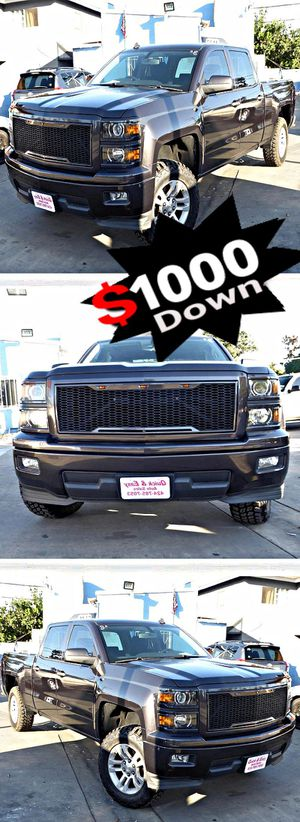 2014 Chevrolet Silverado 1500 1LT Crew Cab 2WD 71k for Sale in South Gate, CA