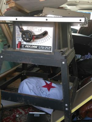 "10""skilsaw table saw nice vintage condition for Sale in Oberlin, OH"