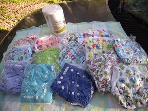 Disposable diapers nappy pads for Sale in St. Cloud, FL