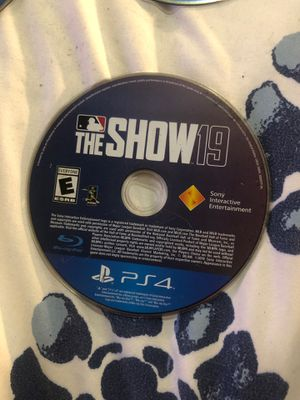 Ps4 the show 19 for Sale in Sacramento, CA