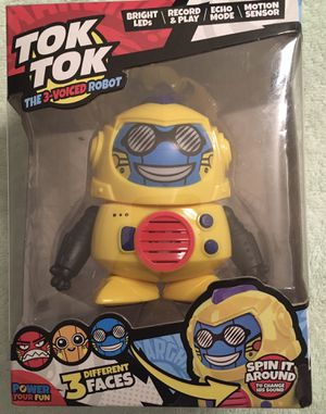 TOK TOK voice changing robot toy for Sale in Chula Vista, CA