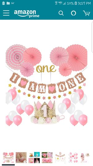New- 1st Birthday decoration for Sale in Manassas, VA