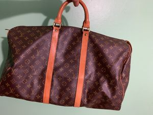 Authentic Louis Vuitton duffel bag for Sale in Lauderhill, FL