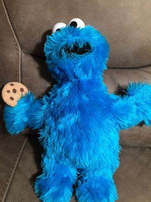 """17"""" sesame Street/cookie monster stuffed animal $17 for Sale in Menifee, CA"""