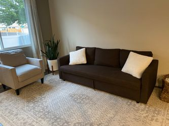 Like new couch that turns into bed for Sale in Vancouver,  WA