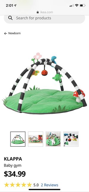 Ikea baby play gym for Sale in Hasbrouck Heights, NJ