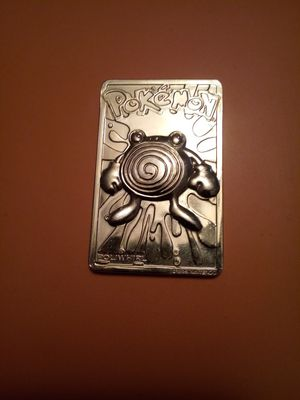 Poliwhirl golden card pokemon for Sale in Chicago, IL