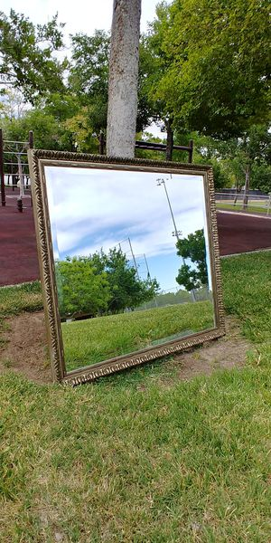 """43"""" x 40"""" Light Gold Wall Mirror for Sale in North Las Vegas, NV"""