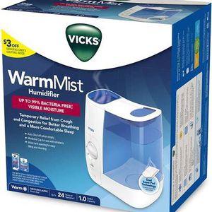 Brand New Vicks VWM845 Warm Mist HumidifierVicks VWM845 Warm Mist Humidifier for Sale in Brooklyn, NY