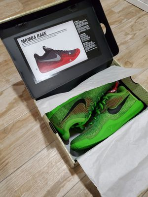 "Brand New in Box Nike Kobe Bryant Mamba Rage ""Grinch"" Christmas 10.5 AUTHENTIC for Sale in Corona, CA"