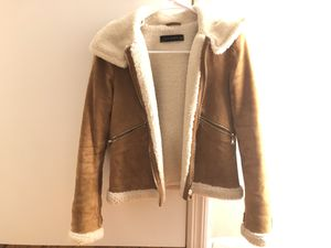 Used, Zara faux leather jacket for Sale for sale  Edison, NJ
