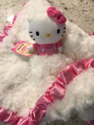 Hello Kitty So Soft Baby Security Blanket for Sale in Orange, CA