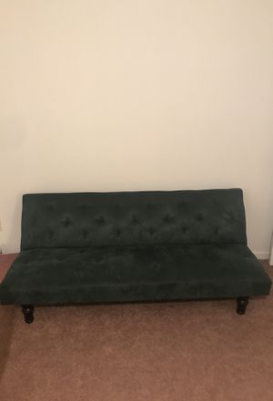 Green tufted futon/couch from Target for Sale in Lexington, KY