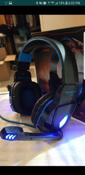 Pro gaming headset (Unopened) for Sale in Sacramento, CA