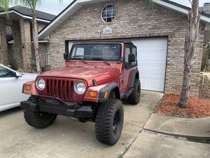 1999 jeep wrangler 4.0 straight 6 for Sale in Deltona, FL
