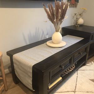 Dark Walnut Coffee Table & End Table set for Sale in Silver Spring, MD