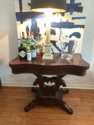Antique Mahogany Games Table for Sale in Tampa, FL