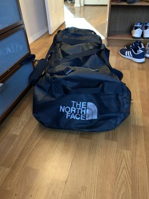 The north face duffel bag that also has straps to carry like a backpack as well. Bag is also waterproof for Sale in Golden, CO