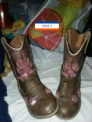 Girls cute cowgirl boots for Sale in Lincoln, NE