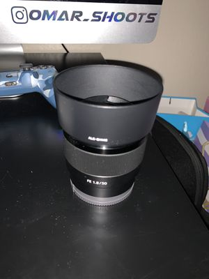 Sony FE 50mm 1.8 for sale for Sale in Fontana, CA