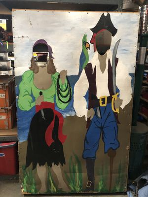 Pirate Themed Photo Booth Frame Prop for Sale in Chino, CA