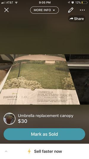 New umbrella canopy for Sale in Pittsburgh, PA