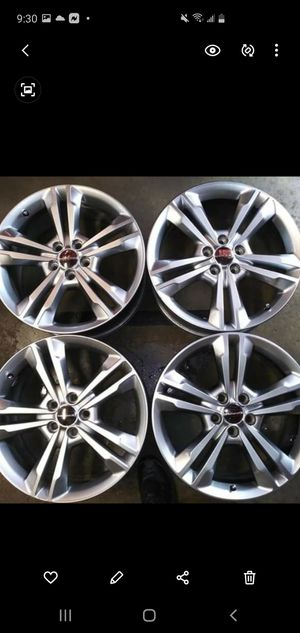 Dodge charger rt 2014 wheels 18 inches for Sale in Dearborn Heights, MI